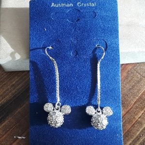 Disney Mickey mouse drop earrings